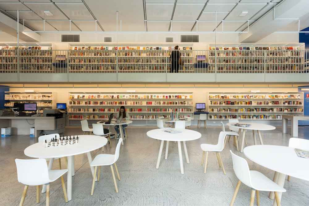Geelong Library by ARM Architecture Lighting design by Electrolight