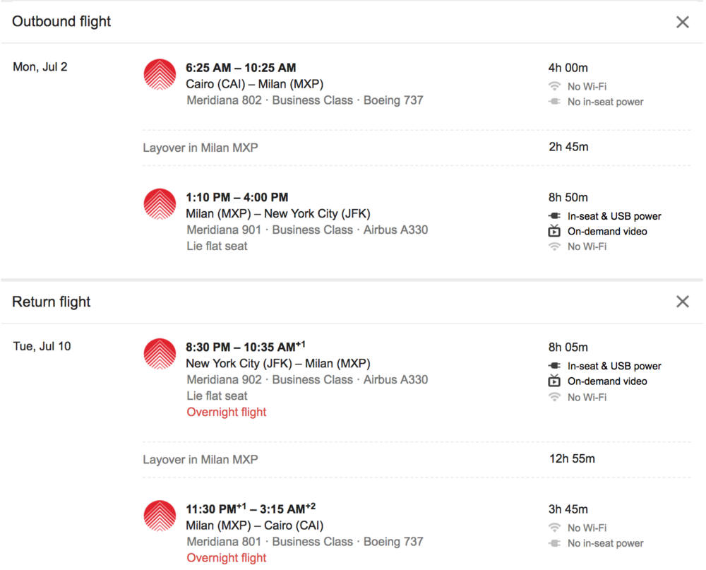 Air Italy Business Class Google Flights.png