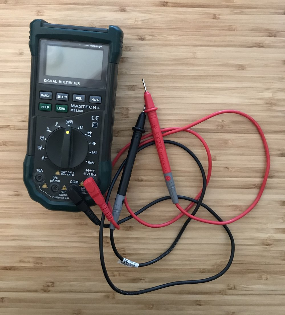 Everybody needs a multimeter, but you don't need the most expensive one available.