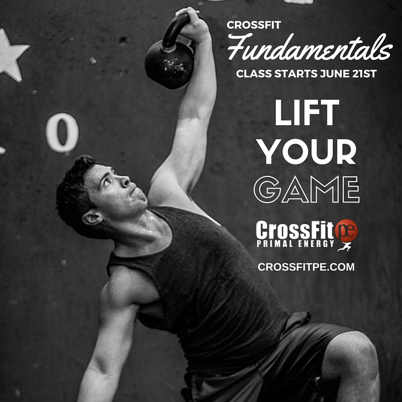 CrossFit Fundamentals - Lift Your Game - Ernie