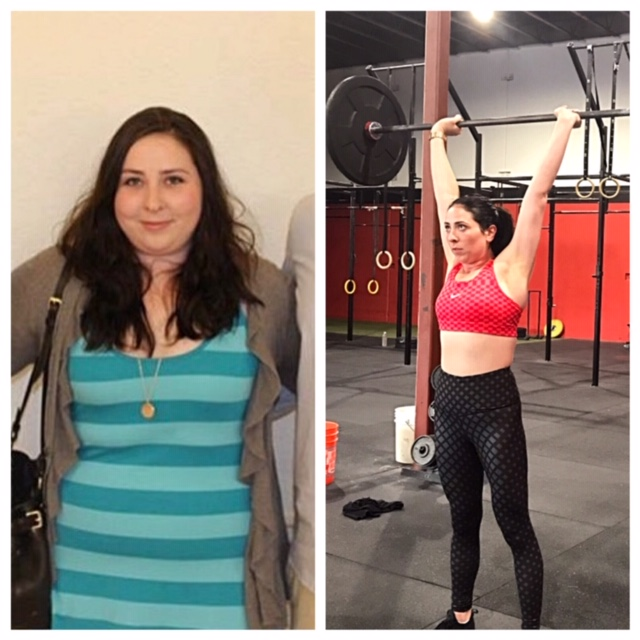 Grace is down over 50lbs after working on her nutrition as well as personal training.