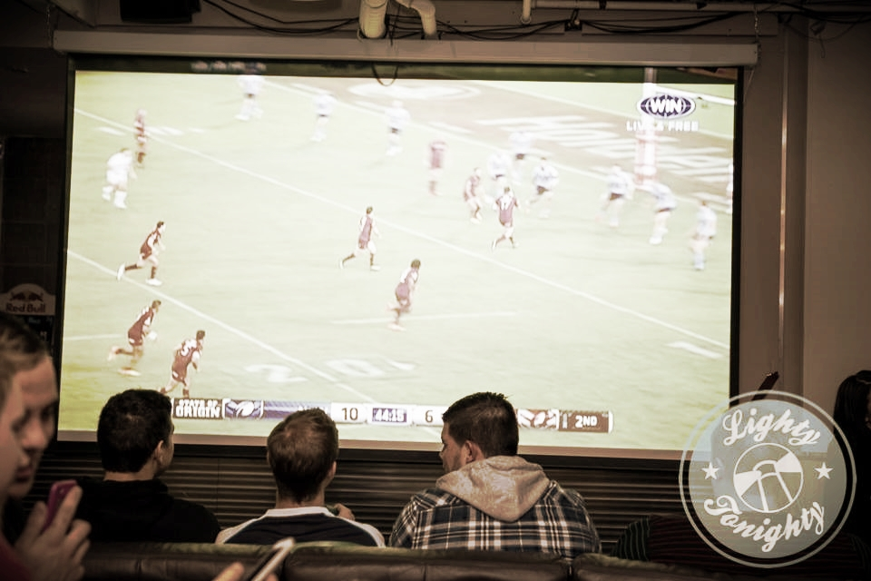 If its watching the big game with mates...