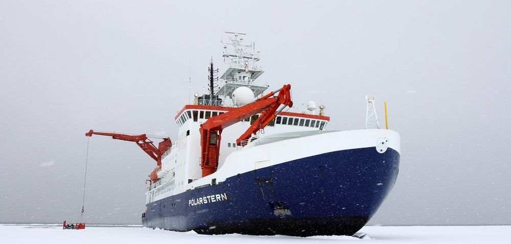 German research icebreaker the RV Polarstern, reference photo