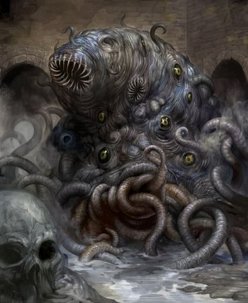 An interpretation of Lovecraft's Shoggoth that we would not be using
