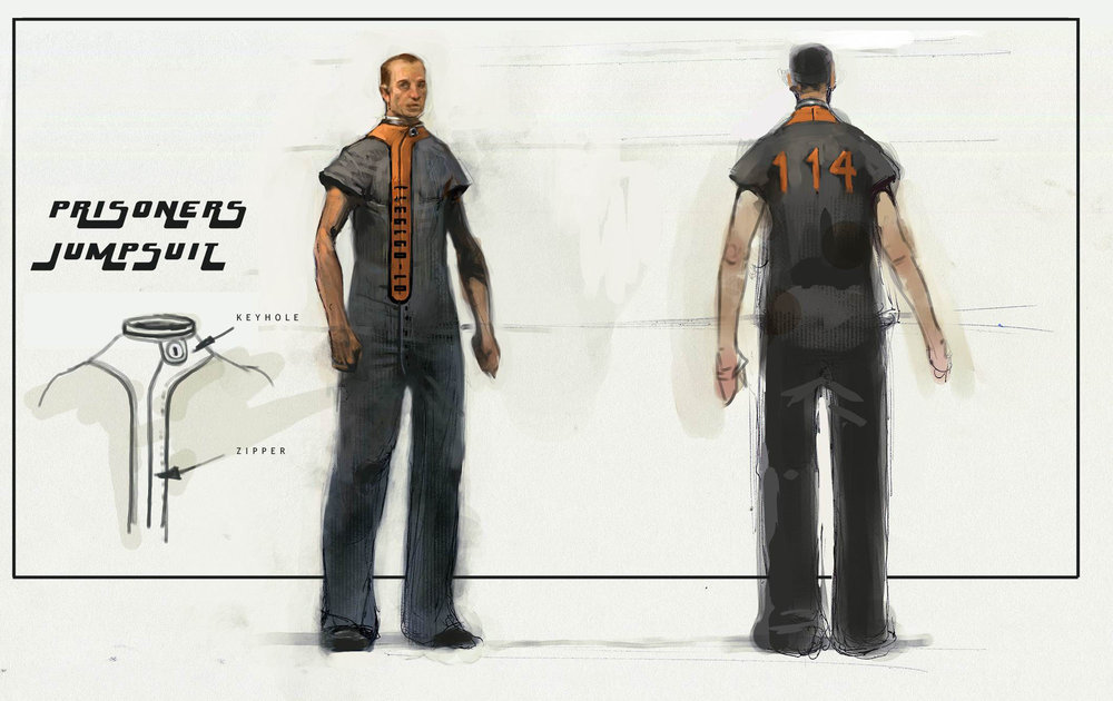 Prisoner's Jumpsuit, Fallout Van Buren, Black Isle Entertainment