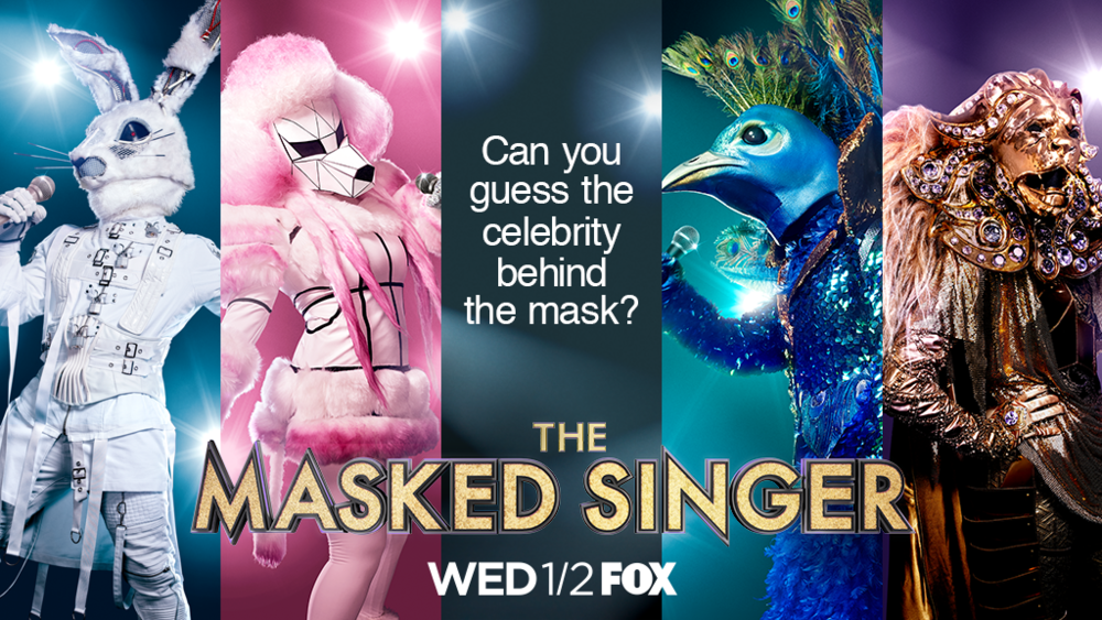 THE MASKED SINGER. FOX. SEASON 1. DESIGNER: MARINA TOYBINA