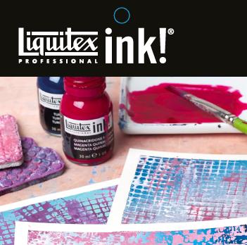 Liquitex ink tips and techniques