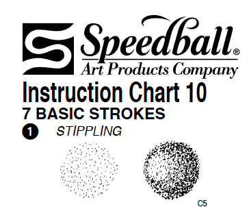 Speedball pen techniques   Shading techniques for nib and ink work.
