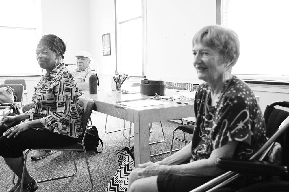 - Co-Directors Barbara Leigh, Ph. D. Founder Emeritus and Azeeza Islam-Writer, Director, Actress, Musician and Teacher. Photo by: Nicole Acosta