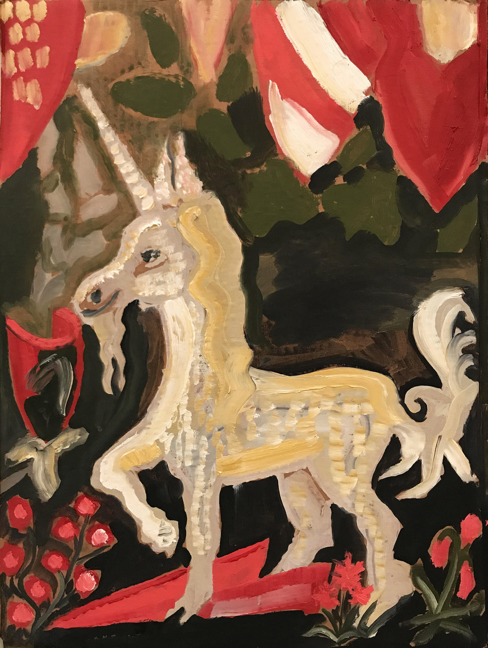 Study for Unicorn Tapestry 4