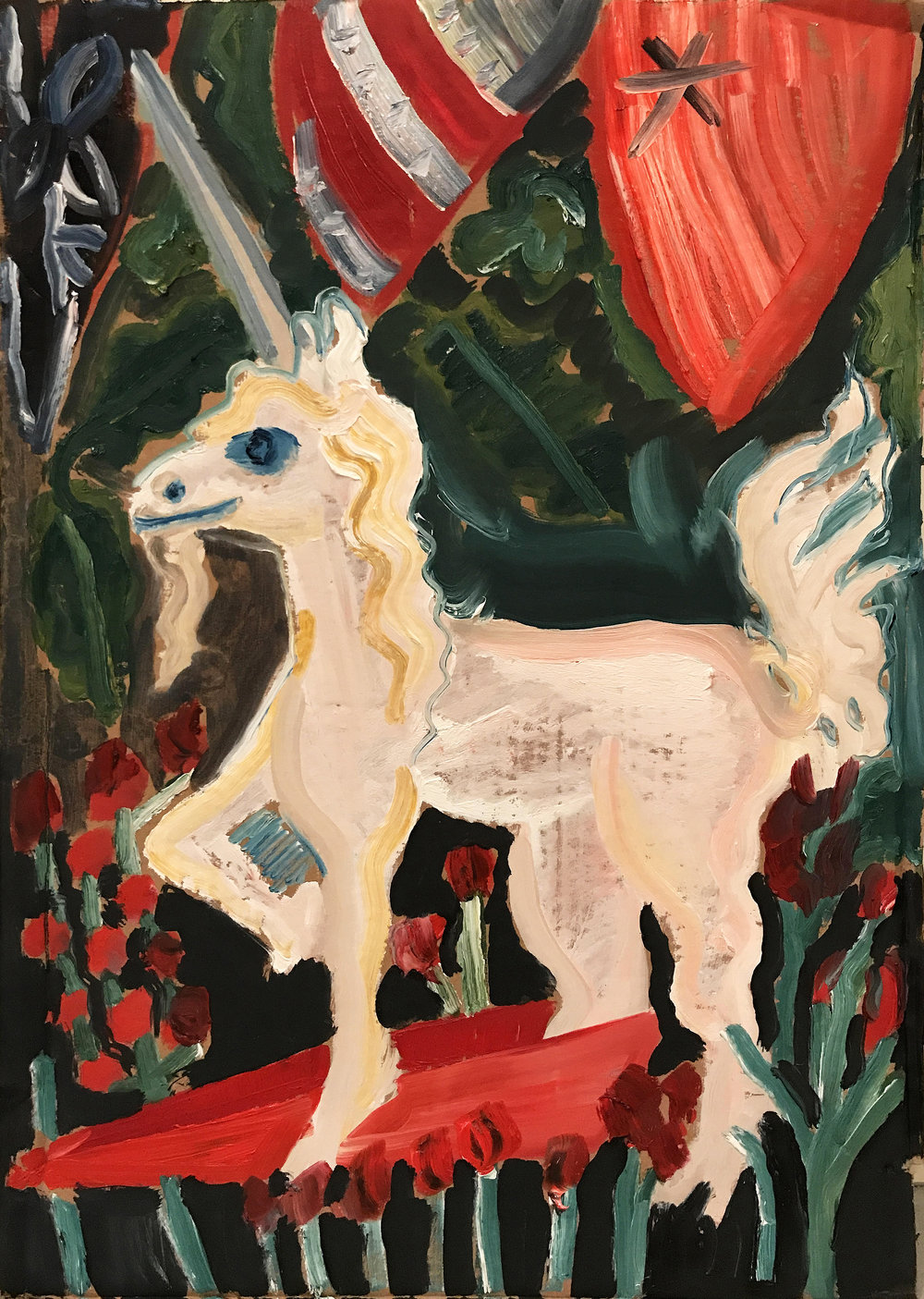 Study for Unicorn Tapestry 2