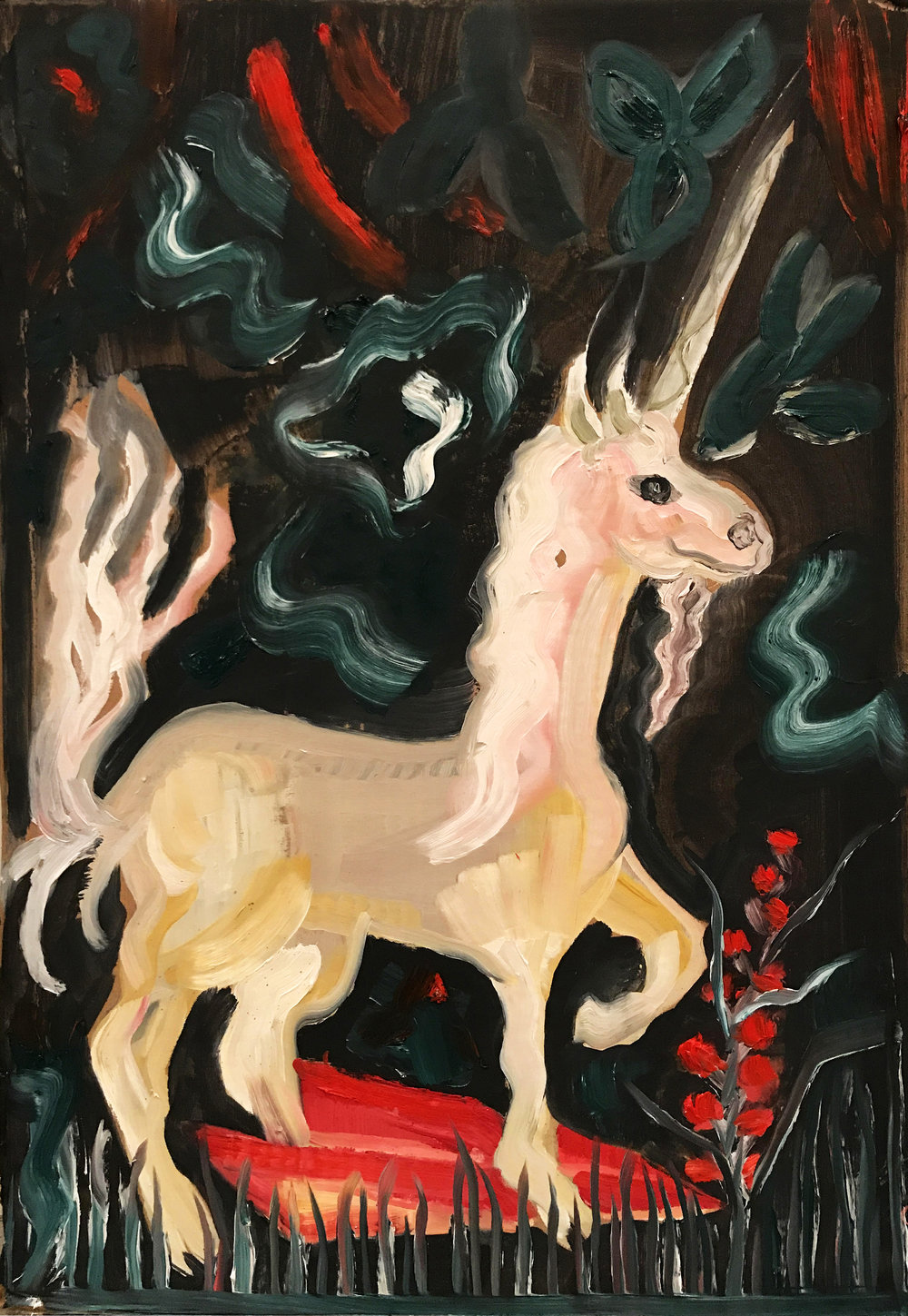 Study for Unicorn Tapestry 1