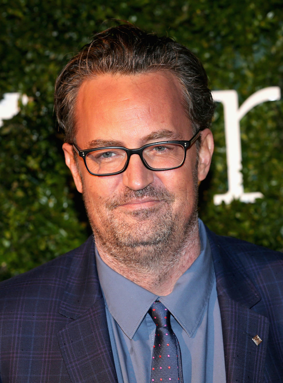Getty Images.  Matthew Perry attends the London Evening Standard British Film Awards at Television Centre on February 7, 2016 in London, England.