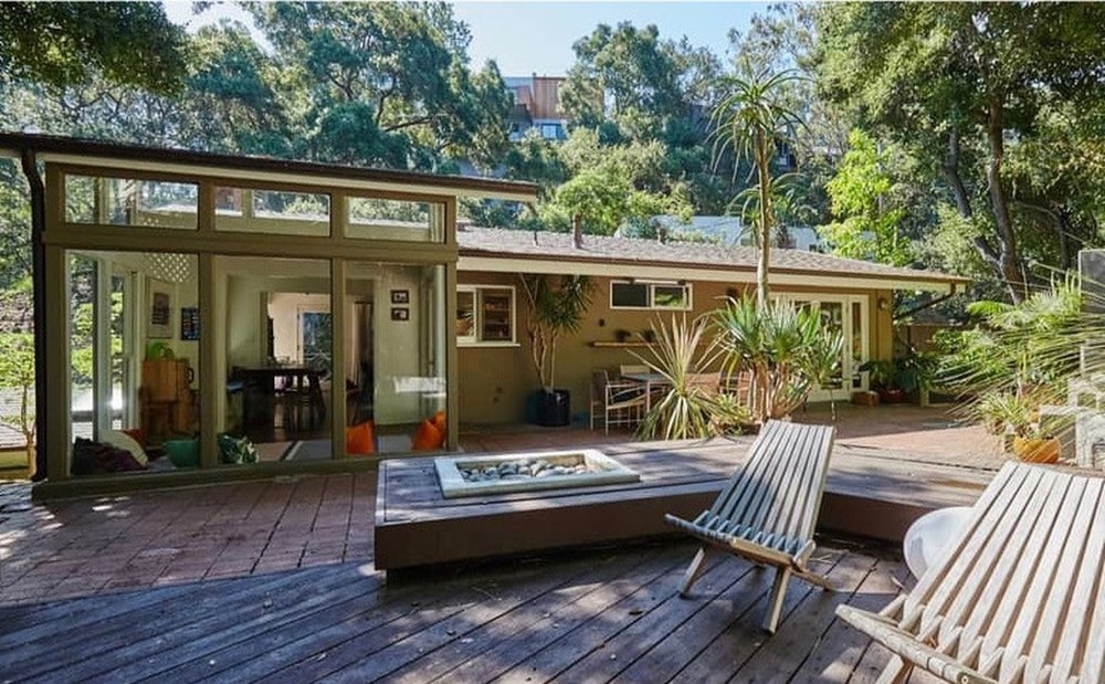 A Midcentury Modern home once owned by Walton Goggins is on the market in the Laurel Canyon area for $1.695 million. (Joel Reis)