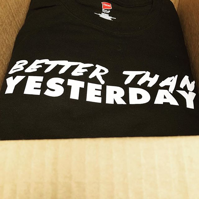 Are you better than yesterday? . .⠀⠀⠀⠀⠀⠀⠀⠀⠀⠀⠀⠀⠀⠀⠀⠀⠀⠀⠀⠀⠀⠀⠀⠀⠀⠀⠀ . .⠀⠀⠀⠀⠀⠀⠀⠀⠀⠀⠀⠀⠀⠀⠀⠀⠀⠀⠀⠀⠀⠀⠀⠀⠀⠀⠀⠀⠀⠀⠀⠀⠀⠀⠀⠀⠀⠀⠀#theoriginbrand #BTYfitness #freshprint #simpleprint #custommerch #takingchances #wecreate #screenprinting  #emboidery #differencemaker #printingwithapurpose #giveback #workingwithcommunity #lovewhatyoudo #buildingscholarships #customorders #customtees #customapparel #letsconsulttoday #getaquote
