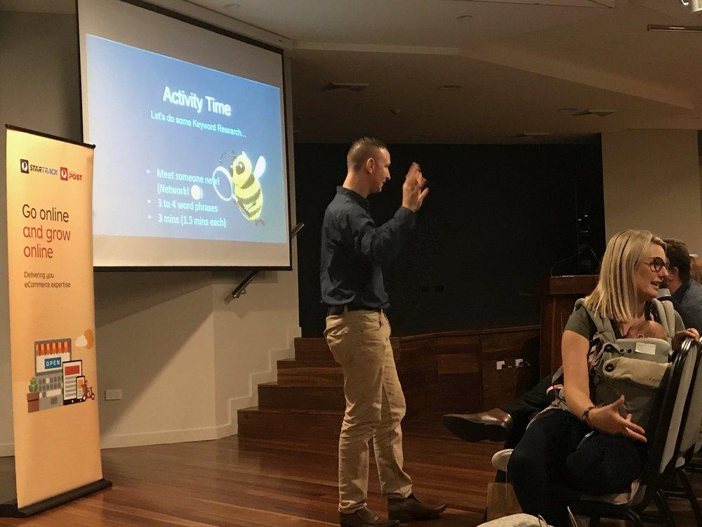 Empowering people:keynote speaking and training