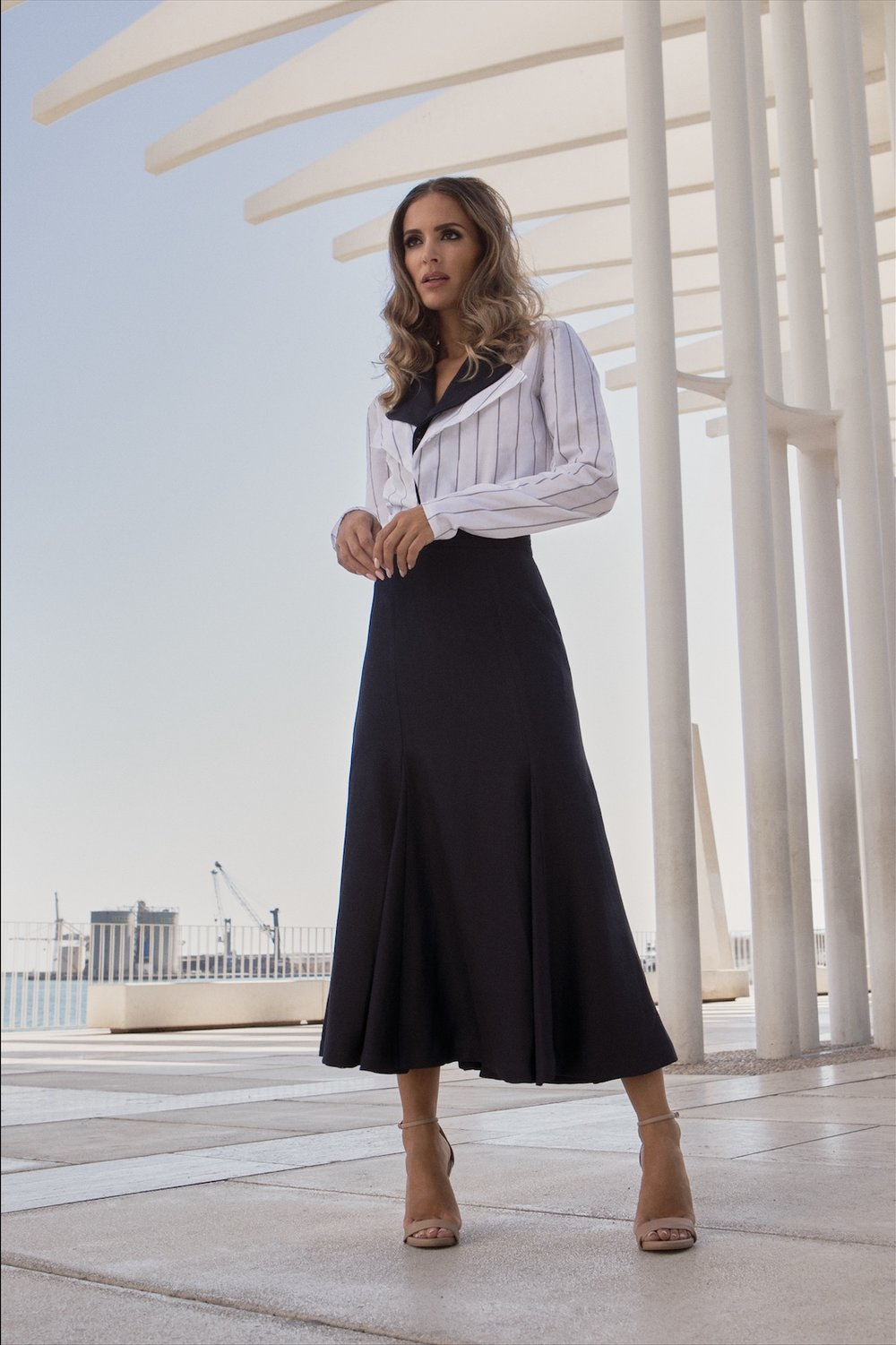 Anchor Top / Riviera Skirt