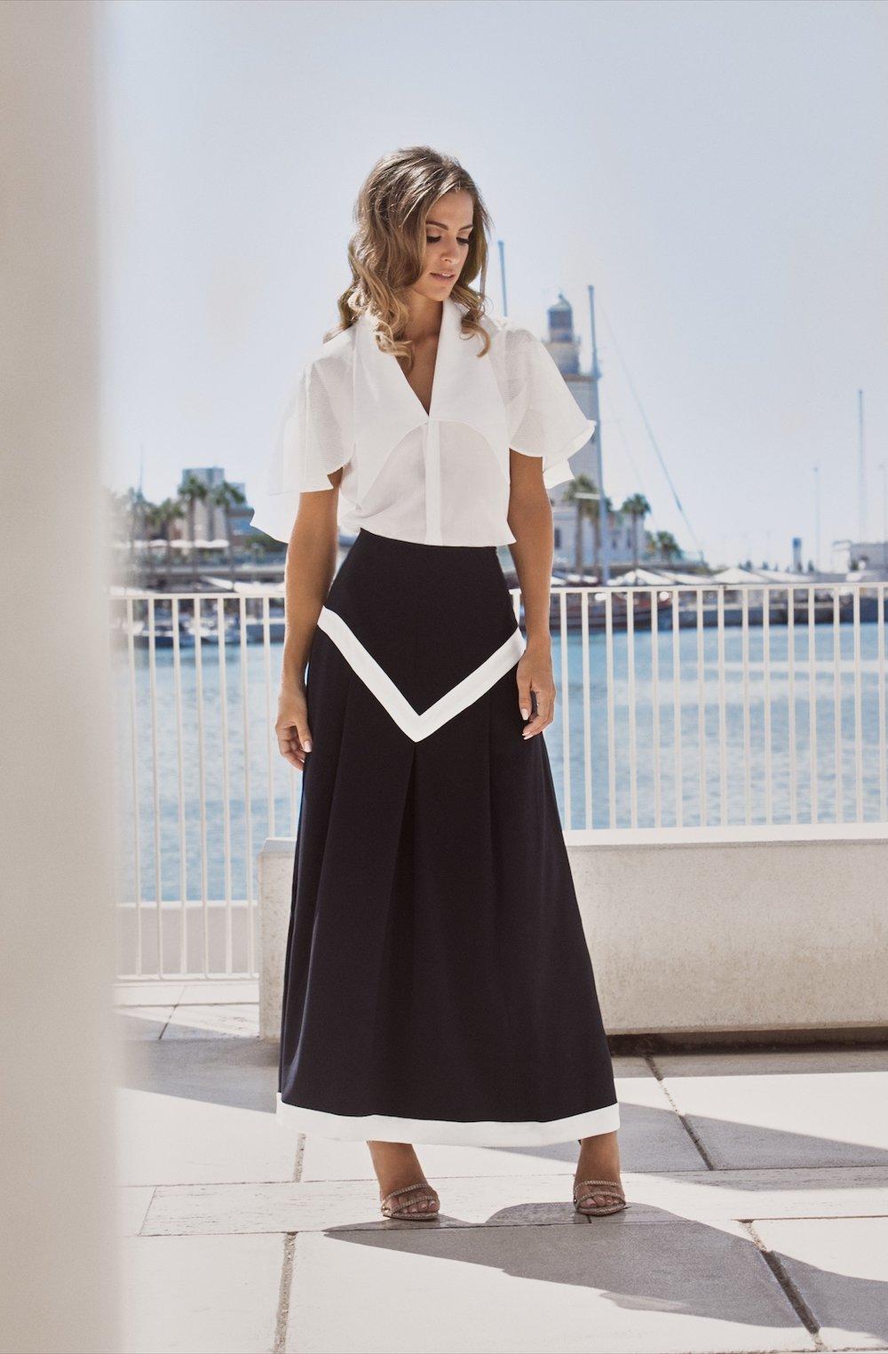 Riviera Top - Nautical Skirt