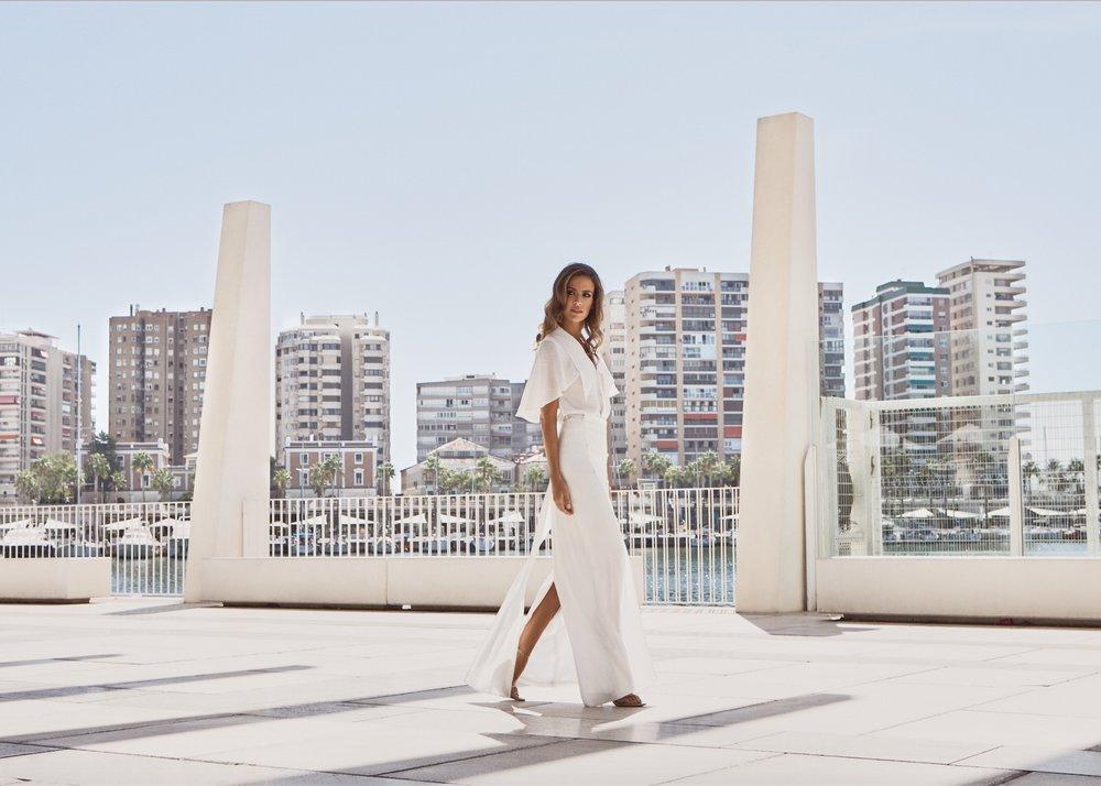 Riviera Top - Sailor Long Skirt