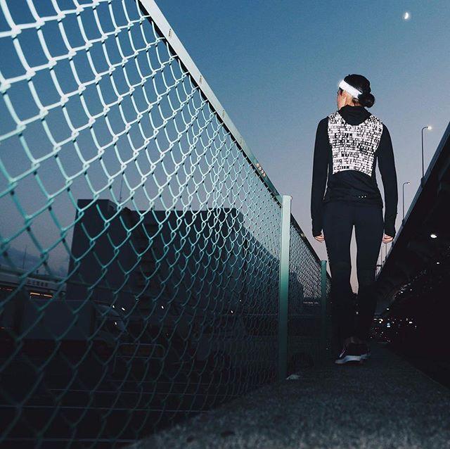 #albedo100 #reflective #spray #night #running #japan #アルベド100 #反射 #スプレー #ランニング