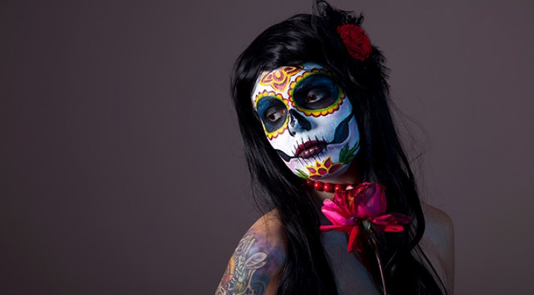 The True Meaning Behind el Día de los Muertos Sugar Skull Makeup — Beauty Atlas