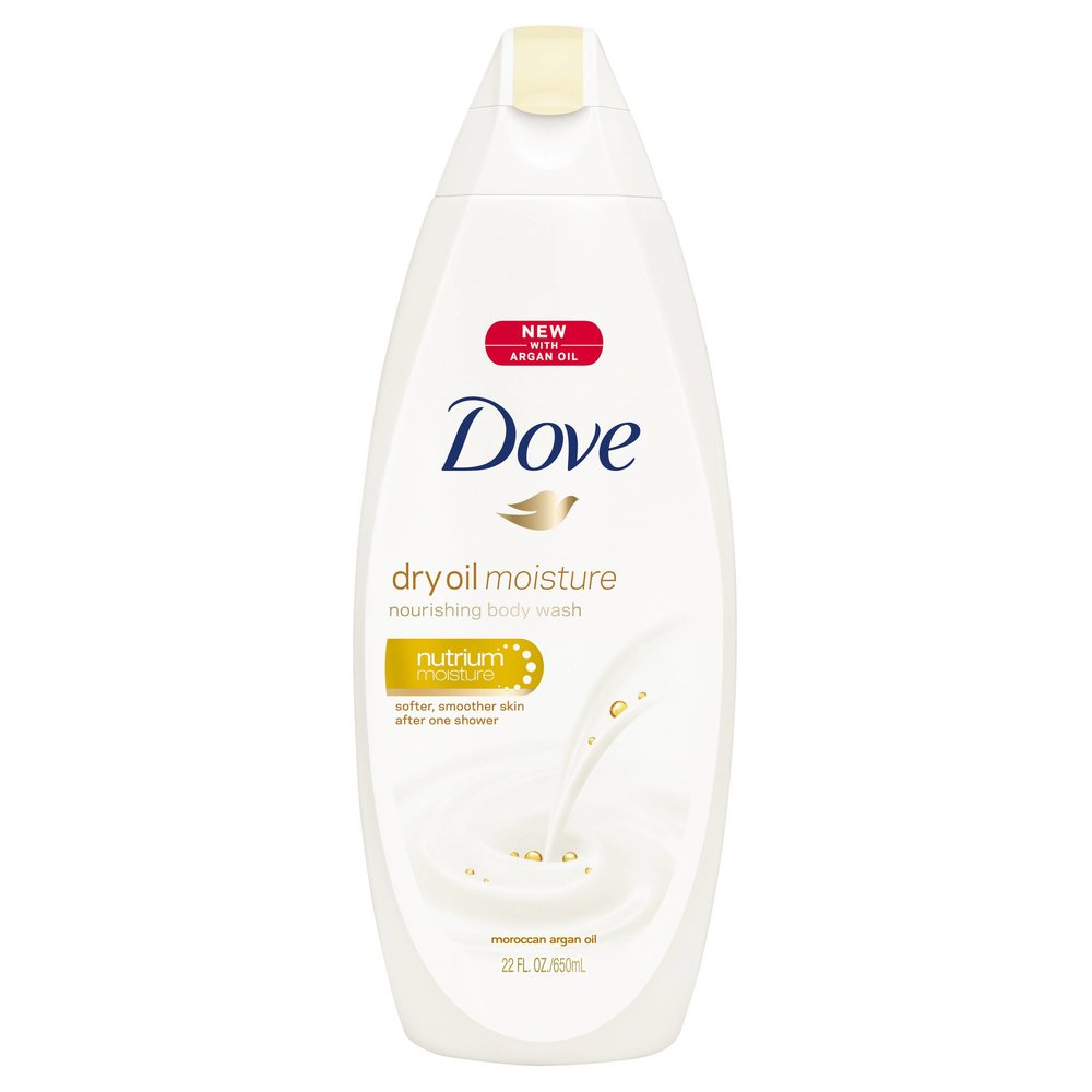 Dove Dry Oil Moisture Body Wash ($5.50)