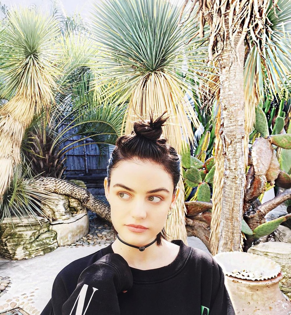 Photo:  instagram.com/lucyhale
