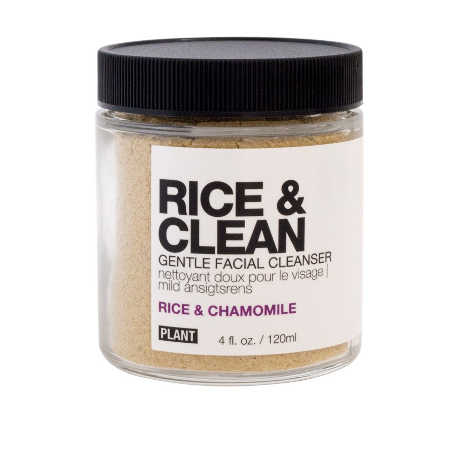 Plant Rice & Clean Gentle Facial Cleanser ($24)