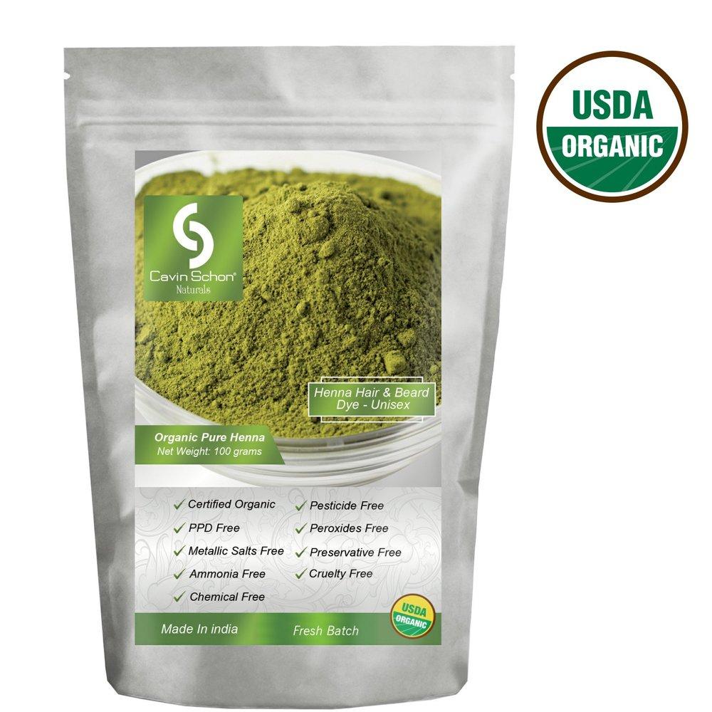 Cavin Schon Naturals Organic Pure Henna ($13)