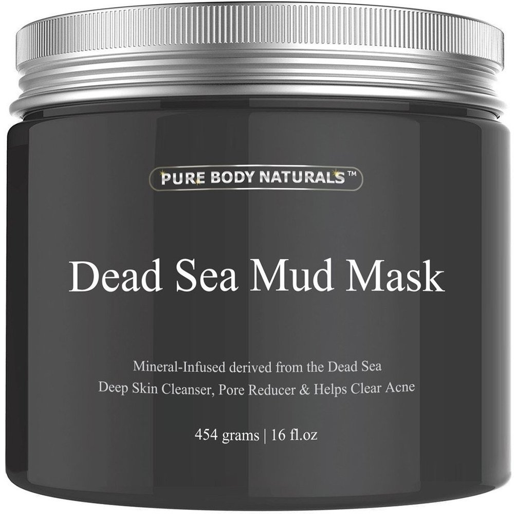 Pure Body Naturals Dead Sea Mud Mask ($15)