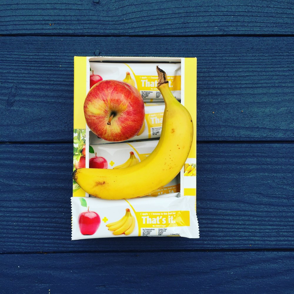 Bananas and apples are included in our healthy snacks & fruit boxes. Buy fresh fruit online.