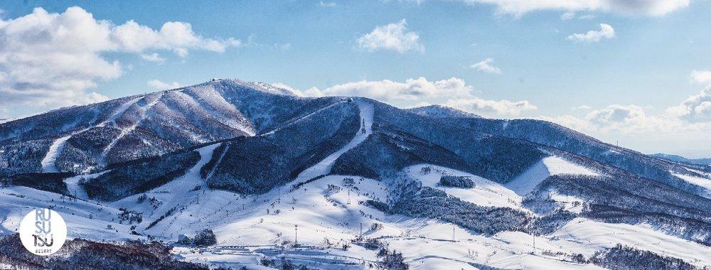 Rusutsu Resort in Hokkaido known for their beautiful terrain.