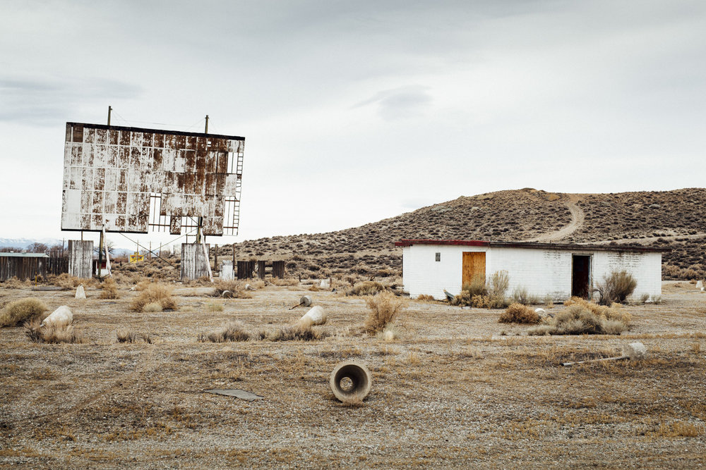 Ghost Towns, Motels & Drive-Ins