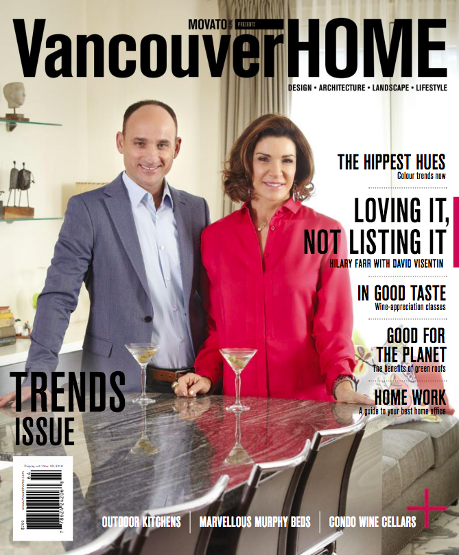 Vancouver Home Magazine Cover