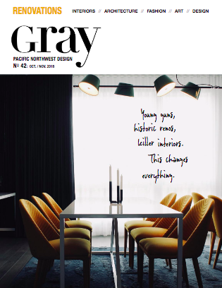 Gray Magazine Cover