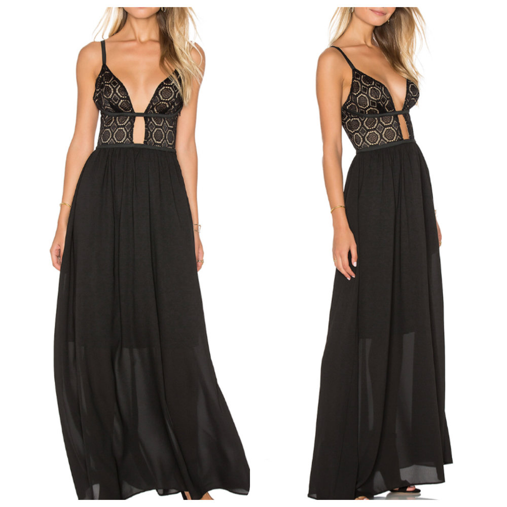 www.revolveclothing.com Last Night Maxi Dress WYLDR $85