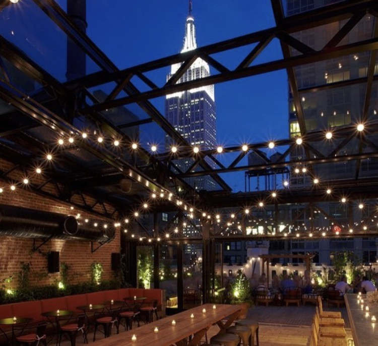 Pic Courtesy of @refineryrooftop on Instagram Facebook:  https://www.facebook.com/RefineryRooftopNYC/ 63 W 38th St New York, NY 10018 646-664-0372
