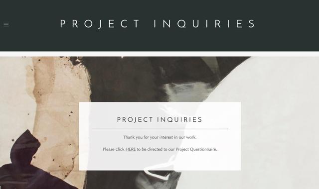 Interior Design Website Designer