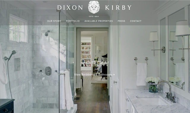 Custom Home Builder Website Designer