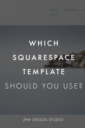 Which squarespace template to use for your business jpw design studio pin this article to pinterest fbccfo Gallery