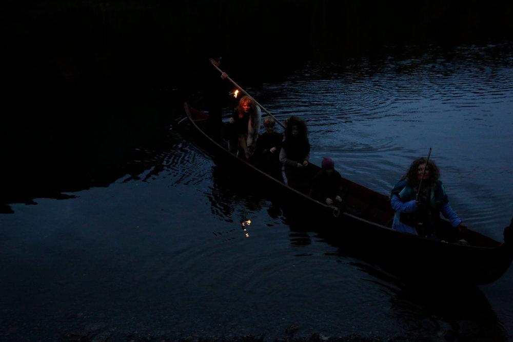 Tradisjonell stakebåt