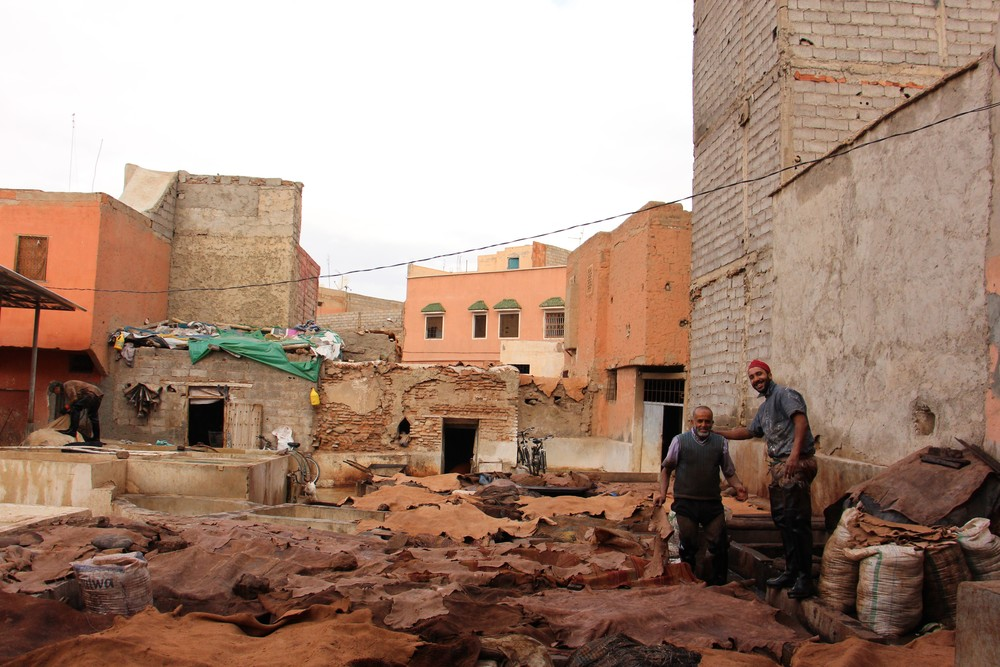 Leather tannery marrakesh