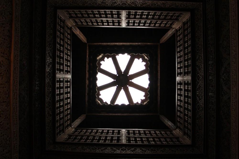 Ben Youssef ceiling