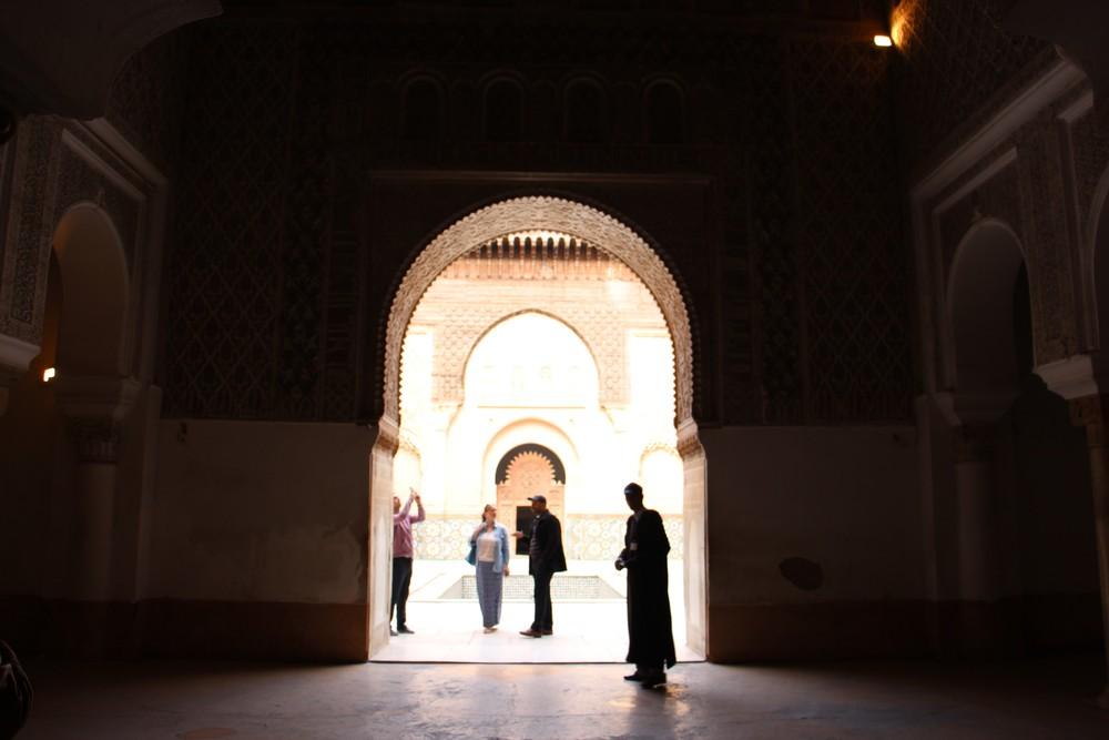 Ban Youssef madrasa artsy shot