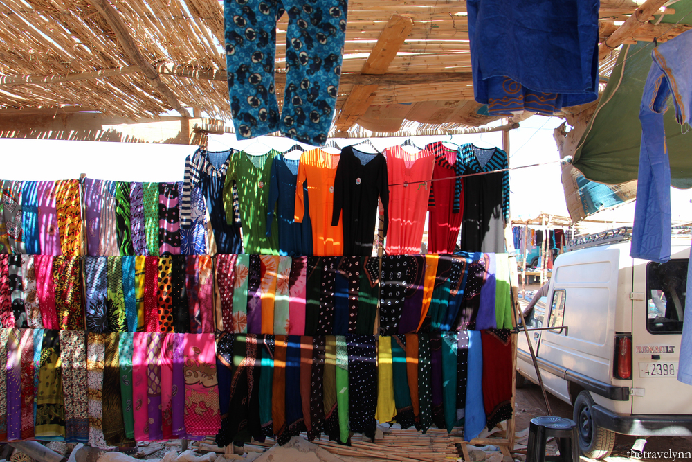 Berber markets clothes
