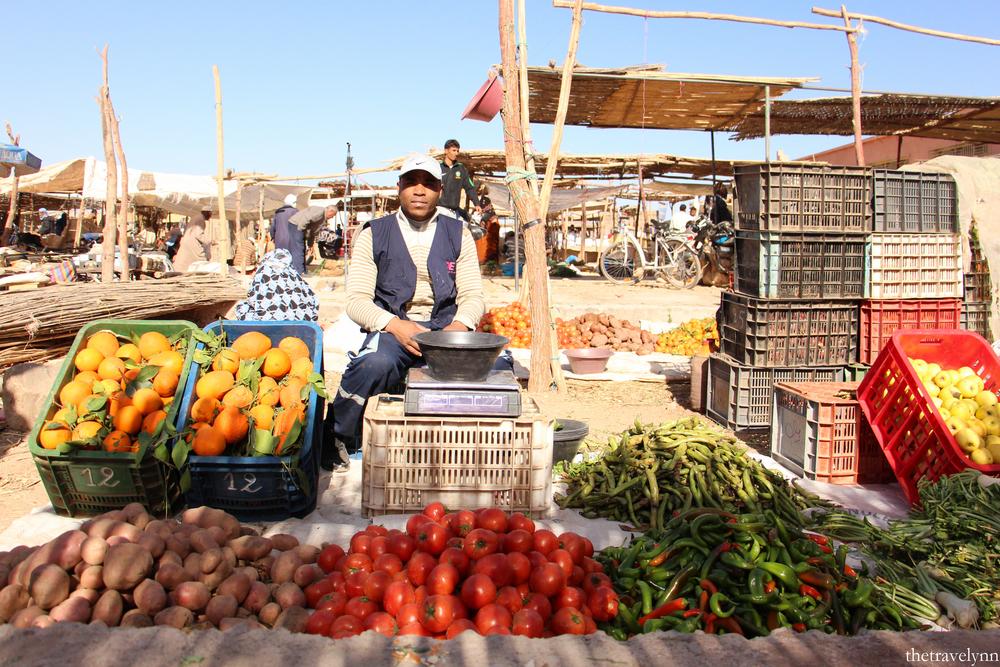 Berber Market veggies