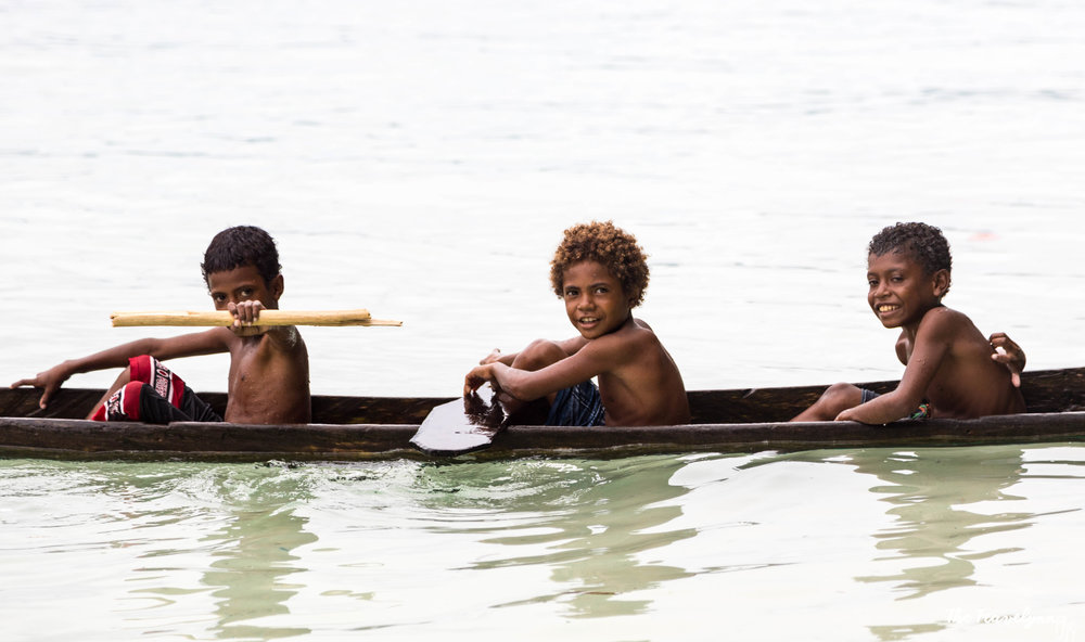 Raja Ampat villagers