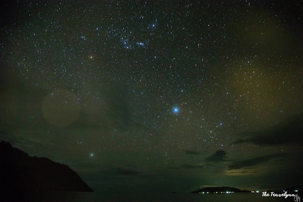 Raja Ampat is spectacular at night as well