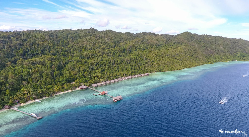 I stayed at the beautiful Papua Explorers Dive Resort