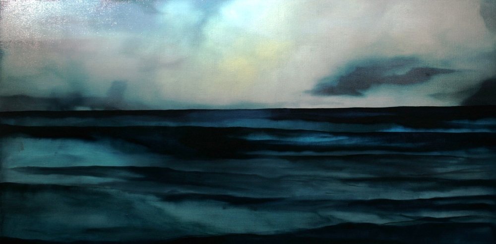 Untitled, oil on canvas, 1200x600mm, 2010, sold